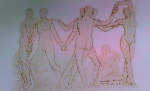 Danza primigenia, versiones de Lucas Cranach el Viejo (1530), Jean_8747917296_l