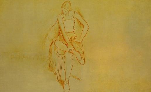 Escenas de Rituales del Ballet, obras de Edgar Degas (1890),_8747898292_l