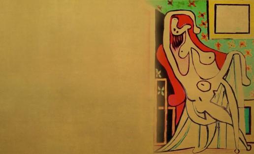 Figuras Sedentes, versiones de Amadeo Modigliani (1918), Henri Matisse (1924),_8746818891_l