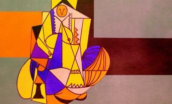 Odaliscas (Mujeres de Argel) yuxtaposición y deconstrucción de Pablo Picasso_8746884467_l